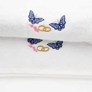08 300x300 - Poročna brisača z napisom