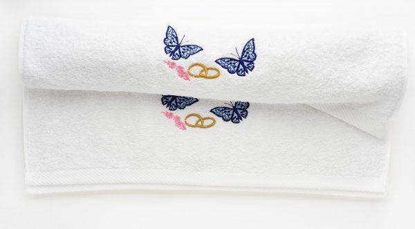 08 600x332 - Poročna brisača z napisom